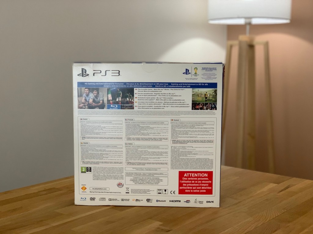 Unboxing PS3 Ultra SLIM 12 Go