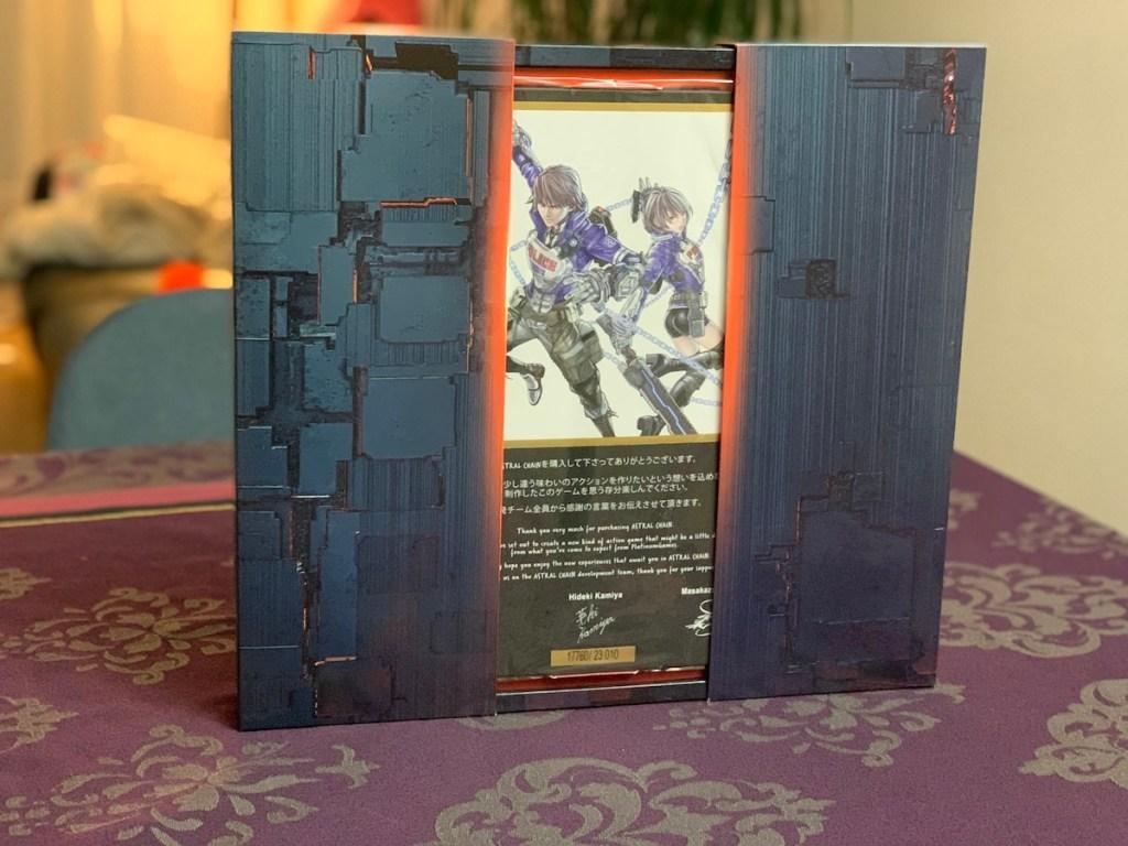 Astral Chain open box