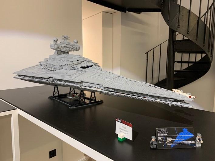 1. Star Wars Imperial Star Destroyer