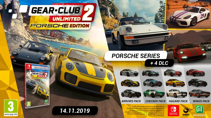 Contenu Gear.Club Unlimited 2 Porsche Edition