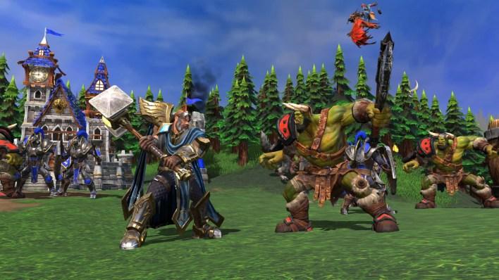 Warcraft 3 Human versus orc