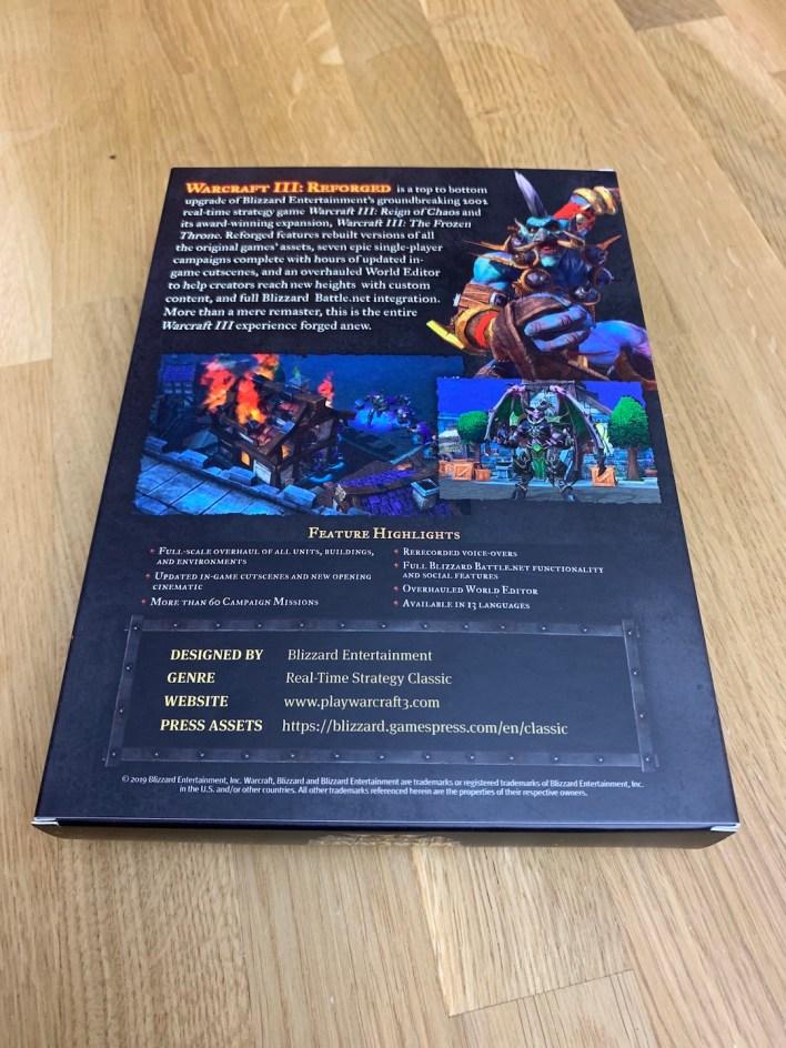Warcraft 3 Reforged Box