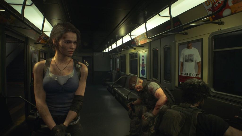 Resident Evil 3 nemesis train