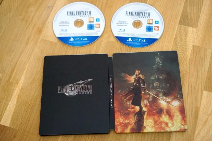 Steelbook FF VII Remake Deluxe