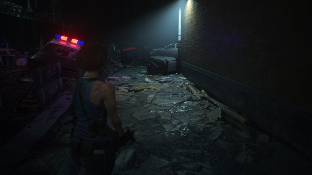 Une ruelle sombre Resident Evil 3 Remake