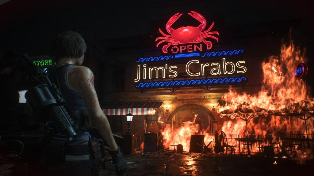 Jim's Crabs Resident Evil 3 Remake