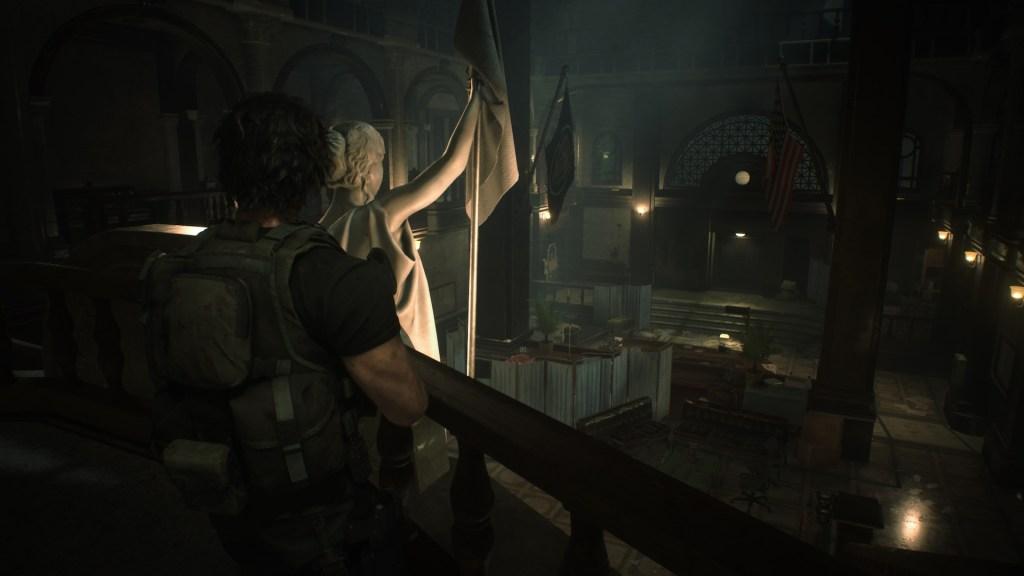 Le comissariat  Resident Evil 3 Remake