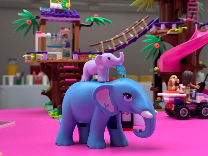 Lego Friends éléphant