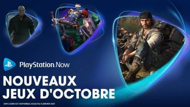Photo de Les jeux PlayStation Now Octobre 2020