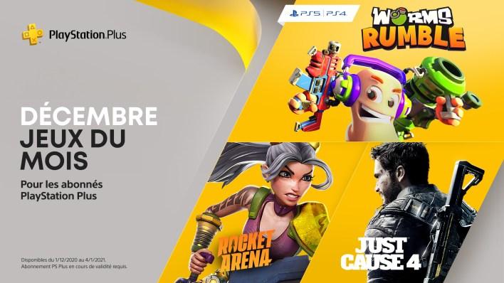 PlayStation Plus Decembre 2020