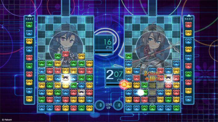 Puyo puyo Trails of cold steel IV