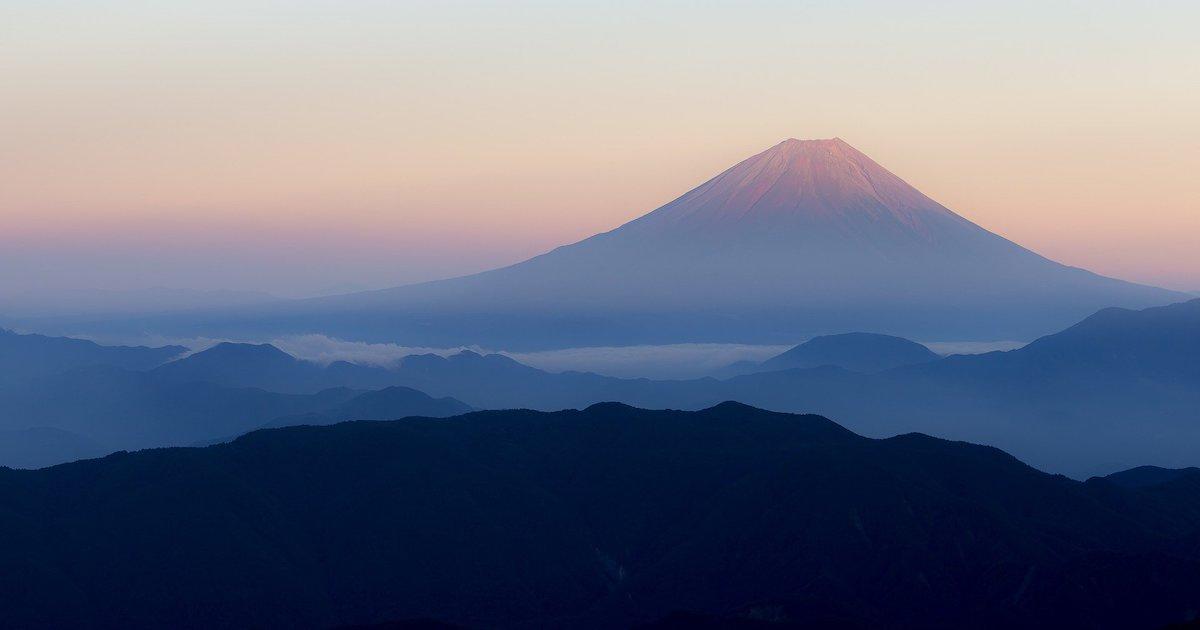富士山 ハレの象徴的存在