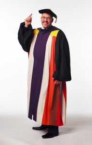 Tom Joyner - Graduation Gown