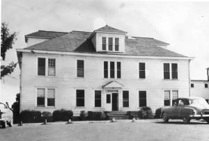 The former FAMU Hospital in the 1950's.