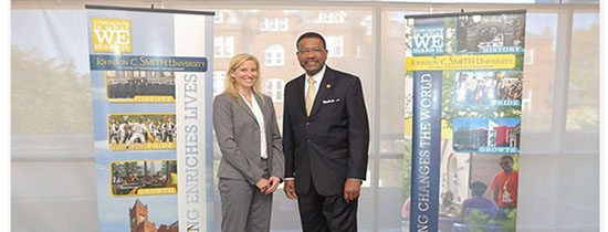 John M. Belk Endowment Gives $825,000 for scholarships at JCSU