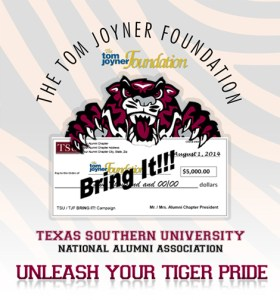 "Texas Southern University ""Bring It"" Pledge Form"