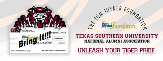 "Texas Southern University National Alumni Association Launches ""Bring It!"" Campaign"