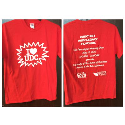 UDC Tshirt-front