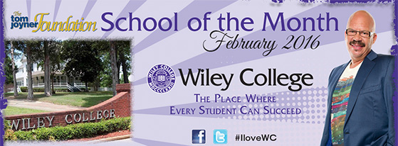 Wiley College Named February School Of The Month
