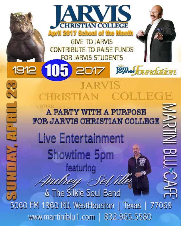 jarvis christian college raises funds with their party with a purpose event tom joyner