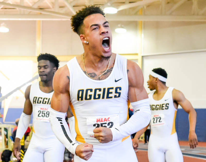 North Carolina A&T University's Chris Belcher Signs With Nike, Earns Spot On US Team