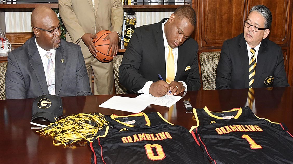 Donte' Jackson Named Head Basketball Coach at Grambling State