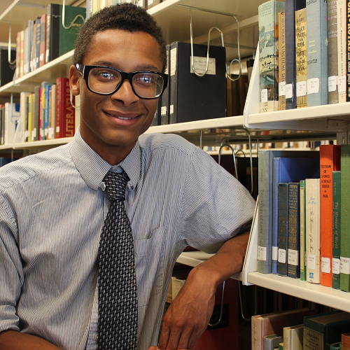 Living With Gusto: Meet Christopher Latin, College Pathways Scholar