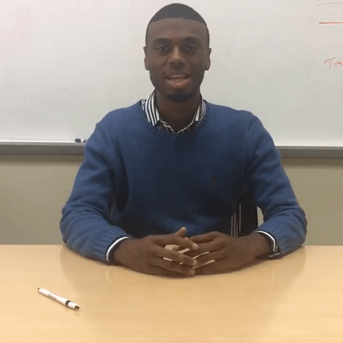 Tuskegee University Graduate and 2017 TJF Intern, Jeffery Johnson, Says 'Support HBCUs'