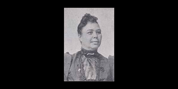 Alice Dugged Cary, second president of Morris Brown College, former president of the Georgia State Federation of Coloured Women