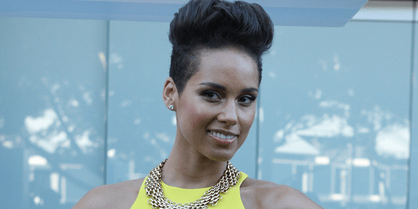 Alicia Keys, pianist and singer