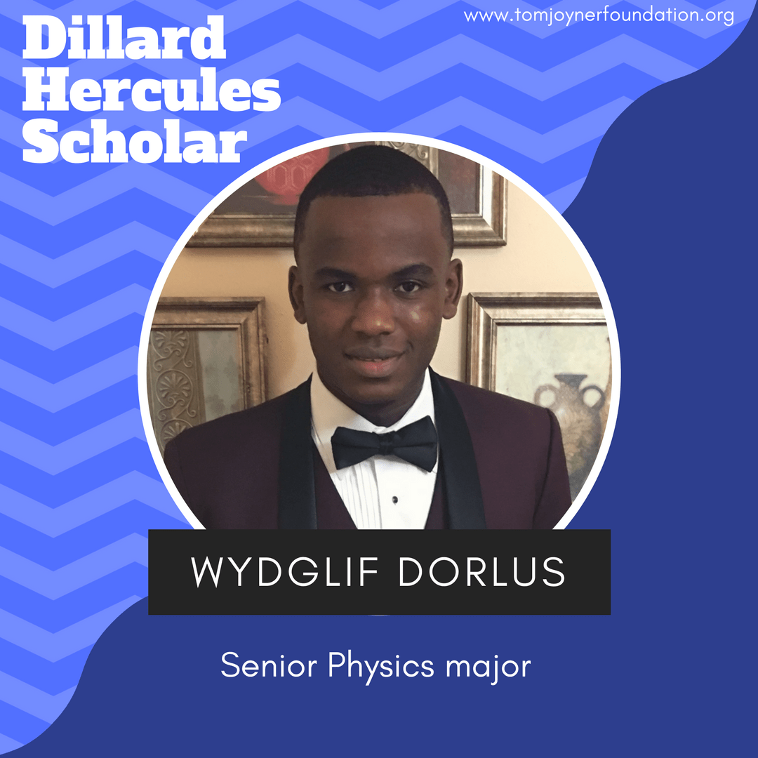 Future Electrical Engineer, Wydglif Dorlus of Dillard University, is Today's Hercules Scholar