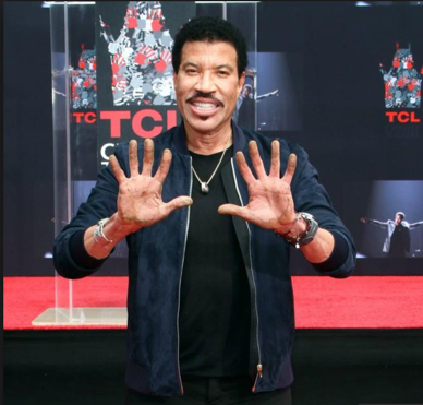 Tuskegee University alum Lionel Richie Honored at TCL Chinese Theatre