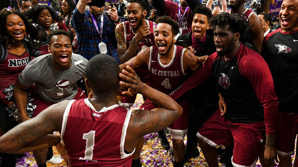 NCCU wins MEAC tournament for second straight season
