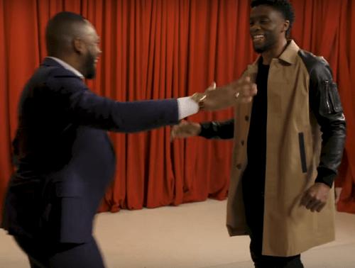 Howard University Alum Chadwick Boseman Surprises Black Panther Fans on 'Fallon'