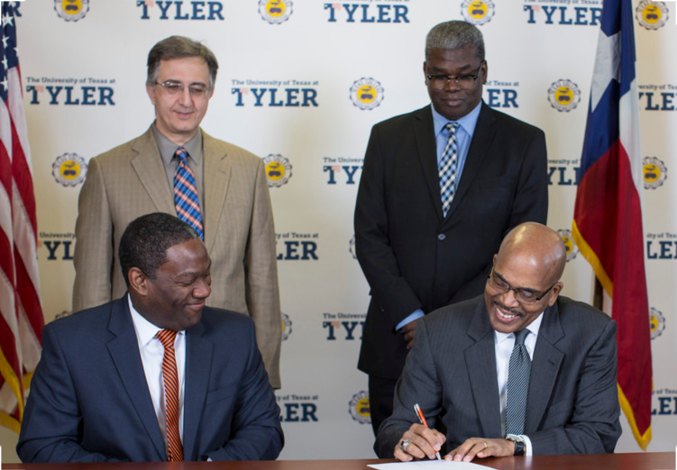 Texas College and UT Tyler Enter New Academic Partnership