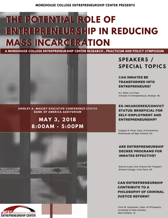 HBCU Events: The Potential Role of Entrepreneurship in Reducing Mass Incarceration