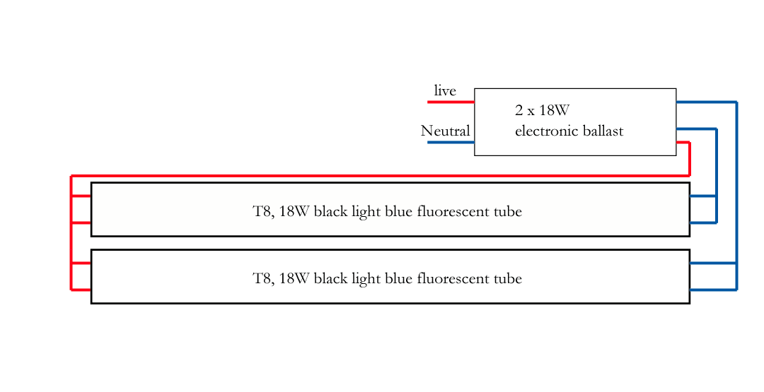 Fluorescent Electronic Ballast Wiring Diagram