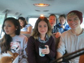 Hours of van rides