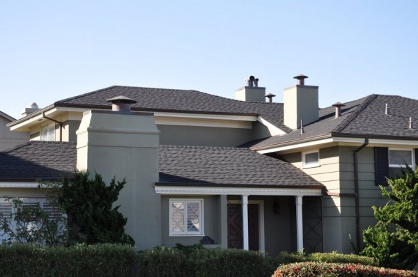 40 Years Shingles - Color: Moire Black