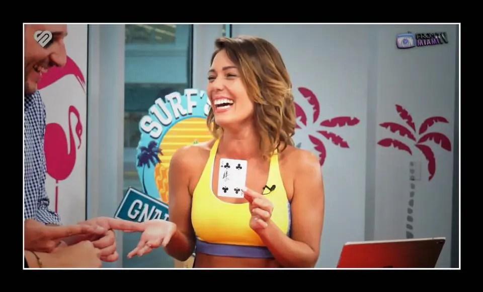 Tom Le Magicien iPad à la TV à Miami