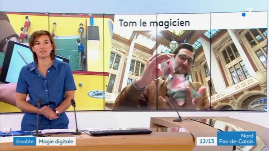 Magicien iPad Lille Tom Coss