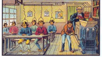 Photo of 21st Century Learning as Envisioned in 1899