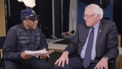 Photo of Spike Lee and Bernie Sanders talk Brooklyn, Equity, and Education