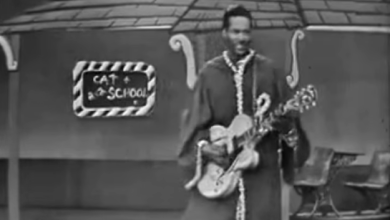 "Photo of Chuck Berry's ""School Days""…. Just Because"
