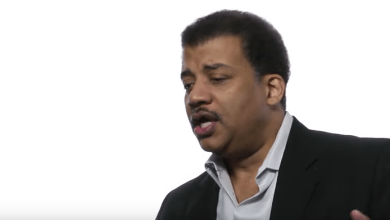 Photo of Neil deGrasse Tyson on How to Nurture Scientific Literacy. Curious?