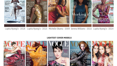 Photo of 228 Issues of Vogue Magazine. Can You Guess How Many Featured Women with Dark Skin? Look.
