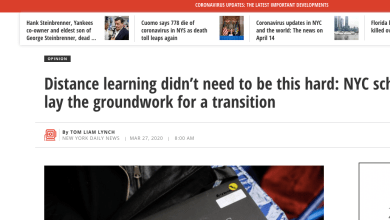 Photo of An Op-Ed on Why Online Learning in NYC Is Harder Than It Needed To Be
