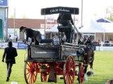 Wagon and Horses.