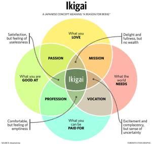 ikigai venn diagramme