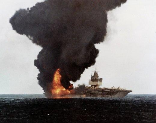 burning deck